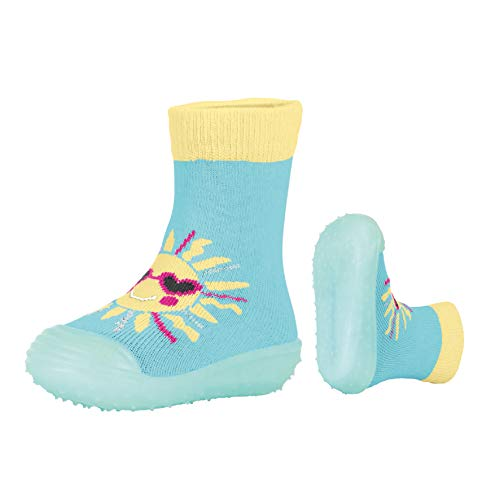 Sterntaler Jungen Mädchen Adventure-Socks Sonne Aqua Schuhe, Blau (Meeresblau 309), 19/20 EU