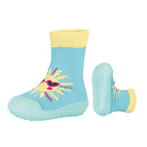 Sterntaler Mädchen Adventure-Socks Sonne Aqua Schuhe, Blau (Meeresblau 309), 24 EU