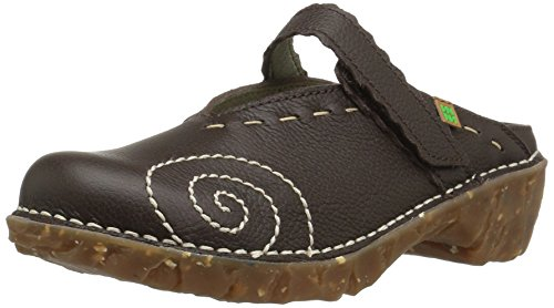 El Naturalista Damen Ng96 Soft Grain Yggdrasil Clogs, Braun (Brown), 36 EU