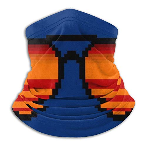 Unisex Headband,Forza Horizon Outrun Gafas De Sol Pixel Art Bufanda Diadema, Protectores Faciales Deportivos Antigotas para Escalada, Senderismo,26x30cm