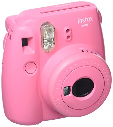 Fujifilm Instax Mini 9 - Kit Divinity para cámara instantánea Instax Mini 9, Carga de 10 fotografías Candy Pop, Tiempo de revelado 5 min, 1/60 Sec, Rosa