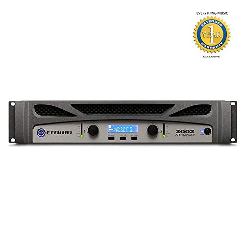 Review Of Crown XTi2002 2-channel, 800W at 4Ω Power Amplifier with Free 1 Year EverythingMusic Ext...