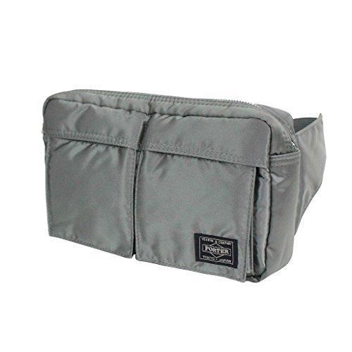 Yoshida Bag Porter Tanker Waist Bag 622-08723 Silver from Japan