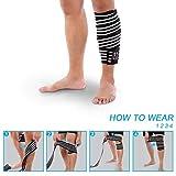 Zoom IMG-1 fascie ginocchia fascia palestra elastica