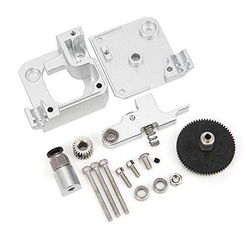 Kit estrusore Mk8 Kit estrusore Stampante 3D Kit estrusore completamente in metallo Kit estrusore stampante 3D per Prusa i3 MK2 Strumenti hardware 1,75 mm