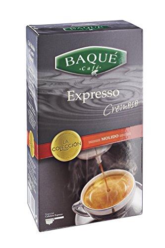 Cafés Baqué - Expresso Cremoso. Cafe Molido Expresso de Tueste Natural - 250 gr