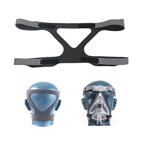 CPAP Headgear, CPAP Mask Strap, for Resmed & Respironics Headgear Strap, Universal CPAP Strap Ultralight Soft and Breathable (Gray)