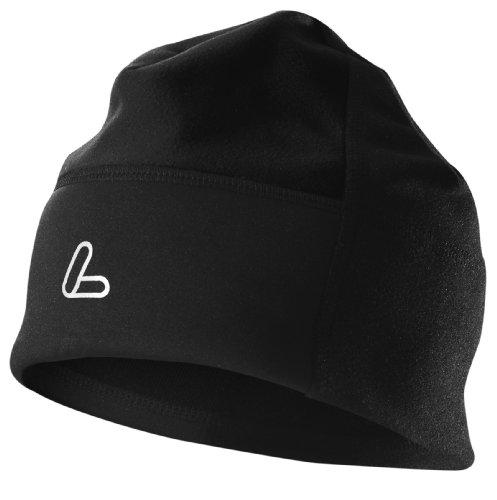 Löffler Mütze Windstopper Warm Fleece, schwarz, 1