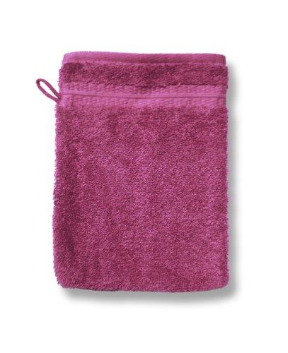 Dodo AC97773400 Caresses Lot de 2 Gants de Toilette Carmine 16 x 22 cm