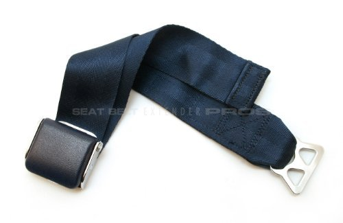 Airplane Seat Belt Extender - Type B, FAA Approved - Free Velour Pouch