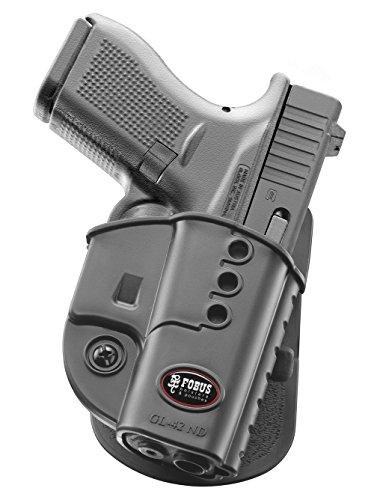 Fobus - Funda para pistola de retención de Paddle Holster para Glock 42