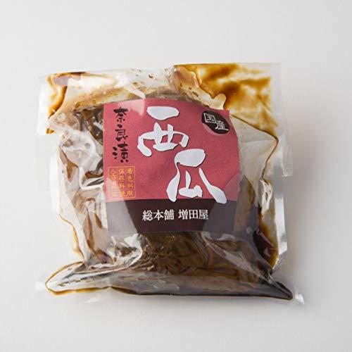 西瓜 奈良漬 2個入り 奈良で作りました 国産 スイカ 使用