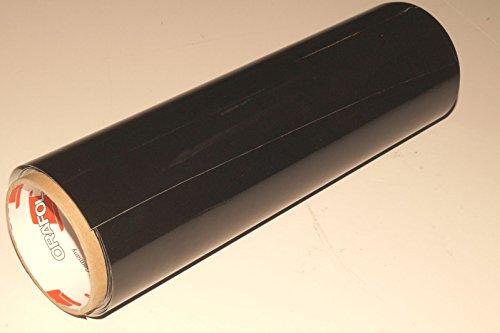 INDIGOS UG - Viperstreifen matt - Rennstreifen, Aufkleber, Rallystreifen - SCHWARZ - 400 cm x 15 cm fürs Auto, Glas, Beschriftungen - Tuning - Carstyling - Viper - Racingstreifen - für Tuning, Autorennen, Motorrad