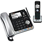 Best 2 Line Cordless Phones - AT&T TL86109 DECT 6.0 2-Line Expandable Corded/Cordless Phone Review