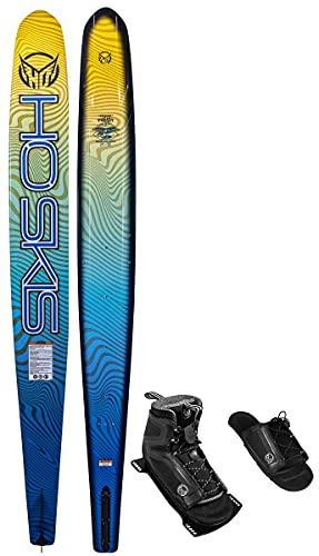 """HO Sports 65"""" Fusion Freeride Slalom Waterski w/110 Stance Boot/Art (4-8)"""