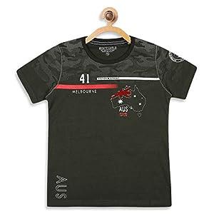 Monte Carlo Olive Coloured Boys Tshirt 6