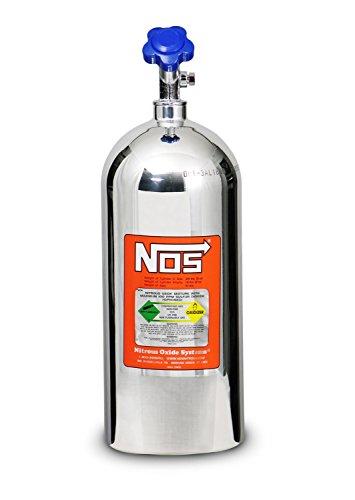 NOS 14745-PNOS Polished Aluminum 10-Pound Nitrous Bottle