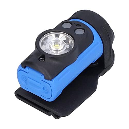 Linterna Frontal USB Impermeable, Liviana, fácil de Usar, Linterna Frontal LED, fácil de Transportar para Amigos, Mochila para Ciclismo