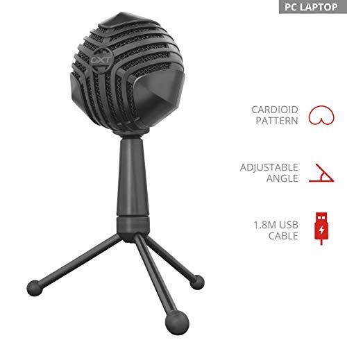 Trust GXT 248 Luno USB Mikrofon (für Gesangs- und Sprachaufnahmen)