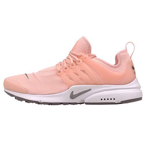Nike Women's Air Presto Running Shoe, Storm Pink/Gunsmoke-White, Size 12.0