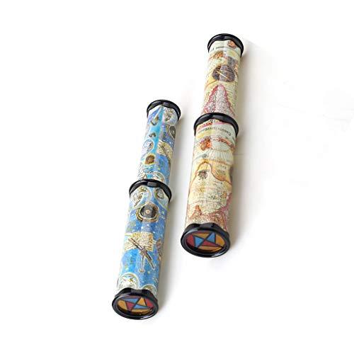 LEVEL GREAT Skalierbare Rotation Kaleidoskop Magie Changeful Einstellbare Magie Kaleidoskop Rotation Einstellbare Farbene Phantoscope Kinder Spielzeug