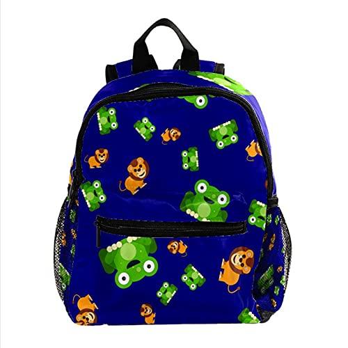 Alfombra de juego para niños, redonda, lavable, diseño circular, Azulejo con diseño de huellas de perro, color azul, 25.4x10x30cm,
