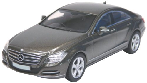 Norev 351300 - Sammlermodell, Mercedes-Benz CLS 350CGI 2010, 1/43 aus Metall, grau