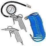 Guede 84091 Neúmatico nailer/staple guns - Martillos eléctricos y grapadoras eléctricas (10 bar, 5 m, 1/4', 760 g, Neúmatico)