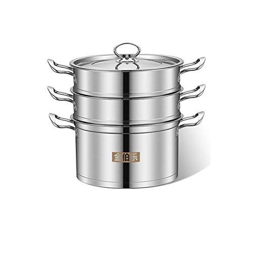 Kitchenware Doppelschicht Edelstahl-Dampfgarer (Größe 26 cm)