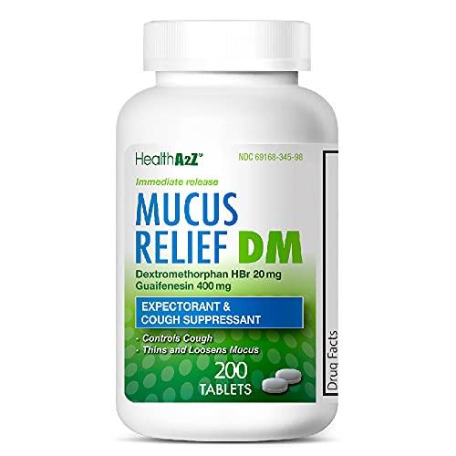 HealthA2Z Mucus Relief DM, 200...