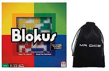 Blokus Strategy Board Game Bundle with Drawstring Bag