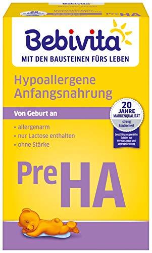 Bebivita PRE Hypoallergene Anfangsmilch, 4er Pack (4 x 500 g)