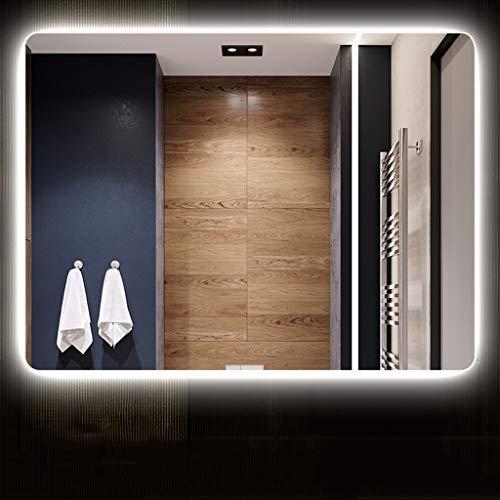 Bathroom mirror cabinet Espejo Retroiluminado Led para Baño Iluminado Espejo De Barra De Pared De Pared Sin Marco De 5 Mm De Grosor para Maquillaje