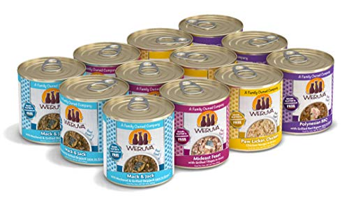 Weruva Classic Cat Food, Variety Pack, The 10 Ounce Pounce, Wet Cat Food, 10Oz Cans (Pack Of 12)