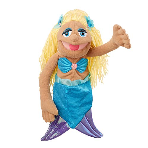 Melissa & Doug- Mermaid-Puppet (New Packaging) Marionetas (40358)