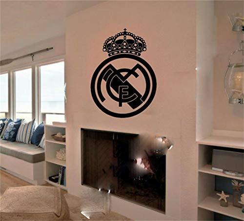 pegatinas decorativas pared Real Madrid España Pegatina Decoración Mural Gráficos Fútbol Regalo sala de estar sala de juegos habitación de niños habitación de niños