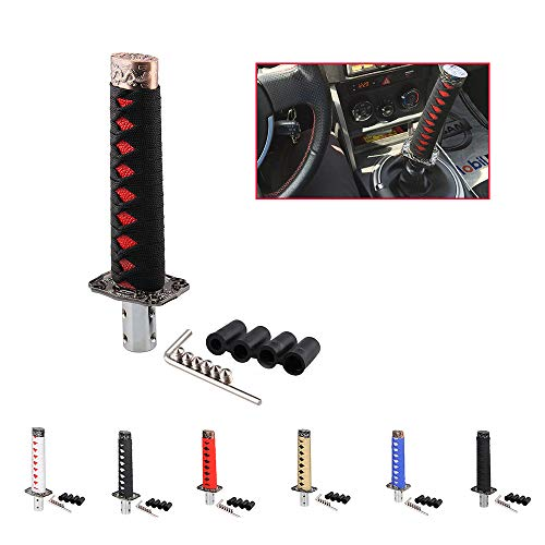 aHUMANs Samurai Sword Shift Knob Automatic,Short Gear Shift Knob Catchers Gear Suitable for Manual Transmission Cars, Most Automatic Transmission Cars
