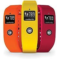 Runtastic Orbit - Set 3 pulseras para Runtastic Orbit, color naranja, rosa, amarillo