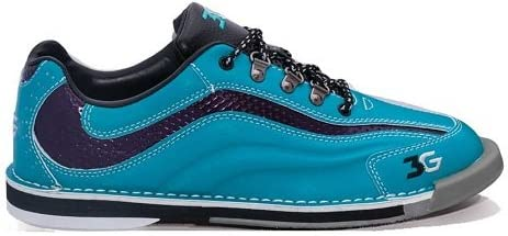Bowlerstore Products 3G Ladies Sport Ultra Bowling Shoes Right Hand- Teal/Purple