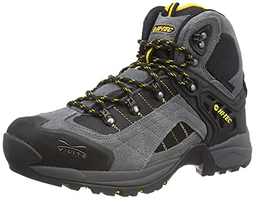 Hi-Tec Men's Sierra V-LITE FASTHIKE WP Walking Shoe, Charcoal/Steel...