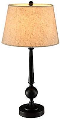Lámpara de sobremesa de metal plateada moderna para salón France ...