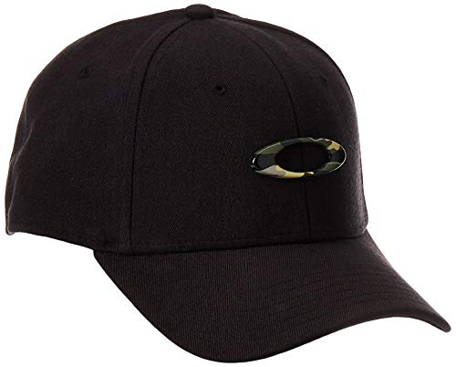 Oakley Herren Tincan Cap, Black/Graphic Camo, L/XL, 911545-01Y