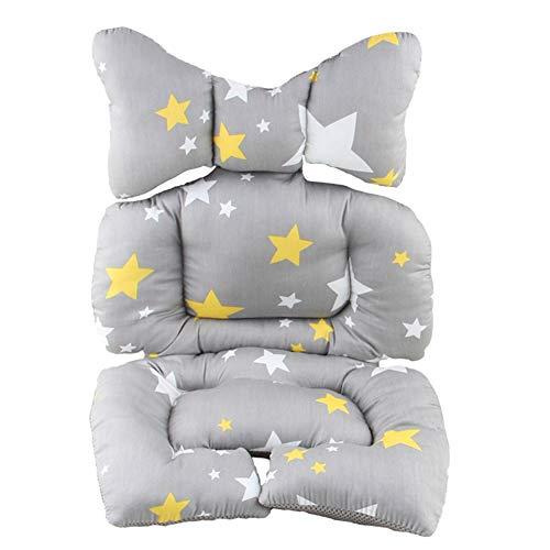 Imagen para Cojín para silla alta para cochecito de bebé, protector de asiento de coche star Talla:65 * 36cm