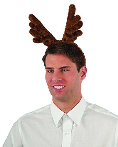 Rubie's Plush Reindeer Antlers Costume Accessory