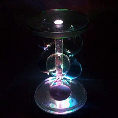 Creatief ontwerp Speciale Partij Club Cocktail Cup Lichtgevende Base 4LED Ronde vorm Bar Cup Lamp Houder Sier/Multi Kleur Licht/multi kleur licht
