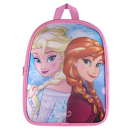 Disney Frozen Elsa & Anna Children's Backpack, 31 cm, 7 Liters, Pink