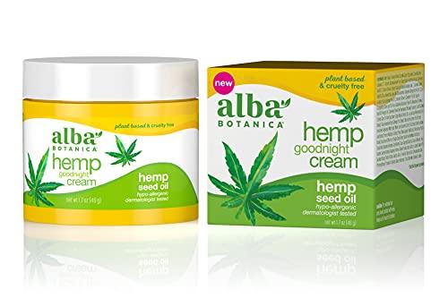 Alba Botanica Hemp Goodnight Cream, 1.7 oz