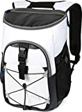 Arctic Zone Titan Deep Freeze 24 Can Backpack Cooler, White