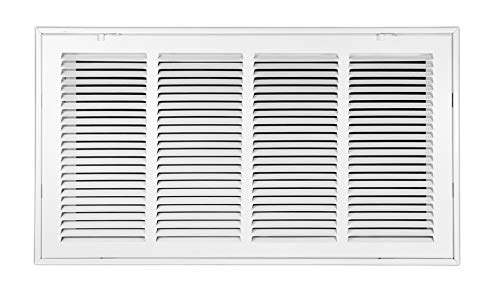 Venti Air 24' X 12' Steel Return Air Filter Grille - Free 2-3 Business Day Delivery [Outer Dimension: 26.5'W X 14.5' H]