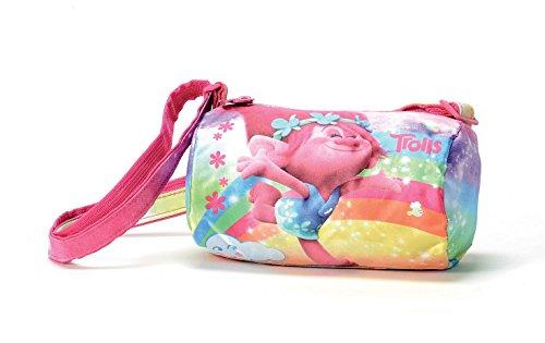 Trolls Happiness Borsa Sportiva per Bambini, 18 cm, Multicolore